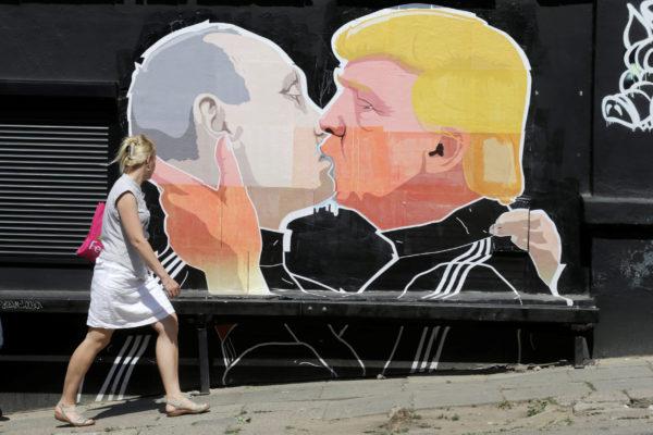 Trump-Putin-Graffiti