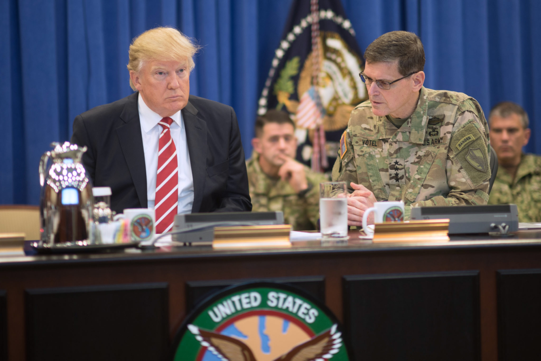 Donald-Trump-Gen-Joseph-Votel