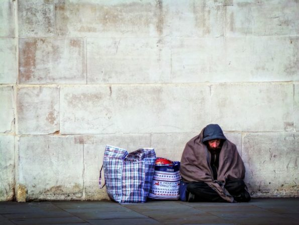 Homelessness Deaths UK Rising 2018