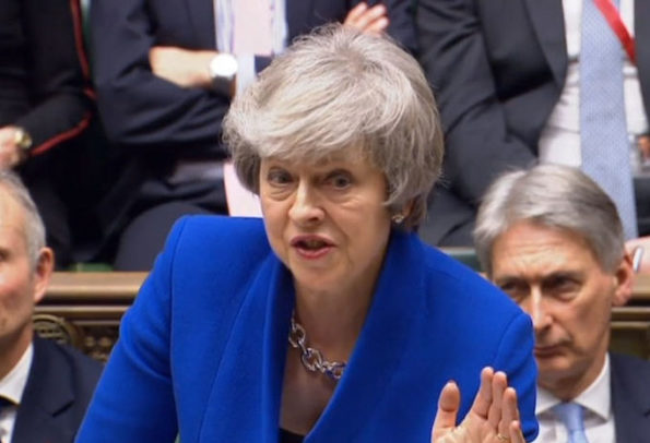 Theresa Mays government survives no confidence vote