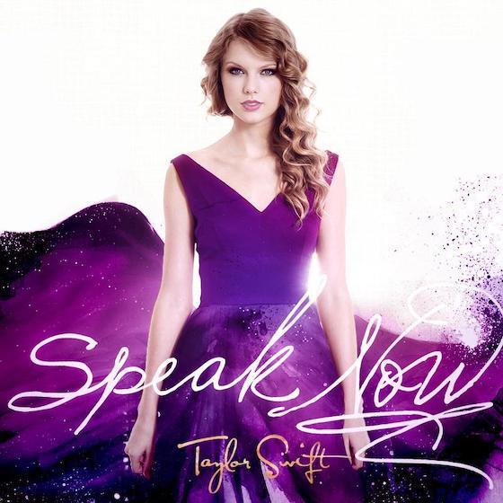 Taylor Swift Speak Now Album