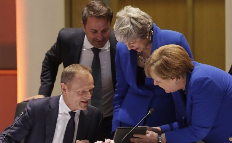 Theresa May EU leaders