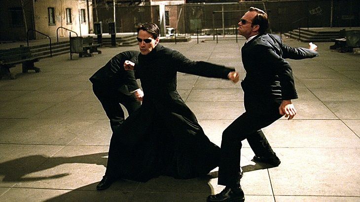 Neo The Matrix fashion