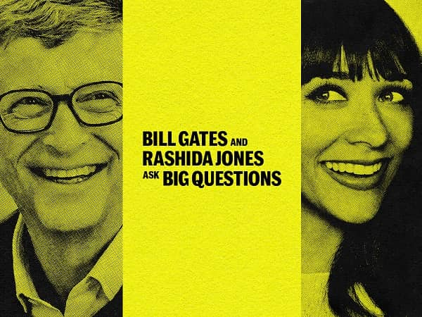 Bill Gates and Rashida Jones Ask Questions