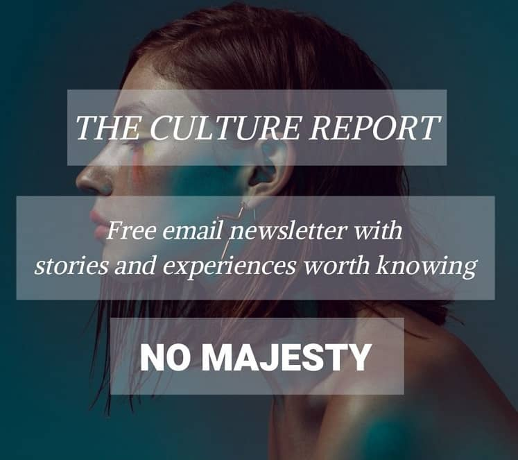 The Culture Report newsletter form
