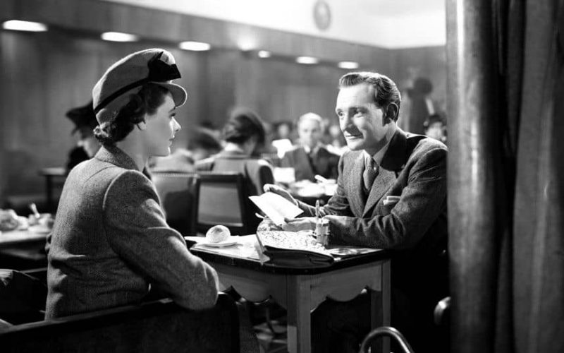 Trevor Howard and Celia Johnson in Brief Encounter 1945 2