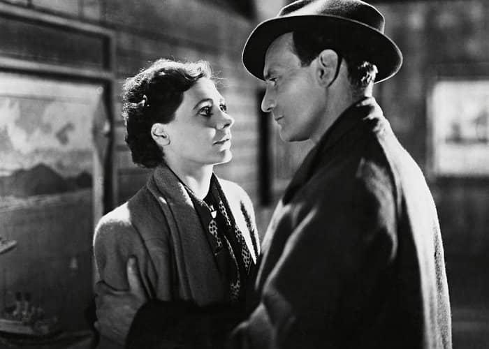 Trevor Howard and Celia Johnson in Brief Encounter 1945