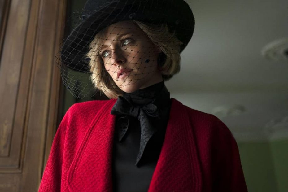 Kristen Stewart as Princess Diana Spencer