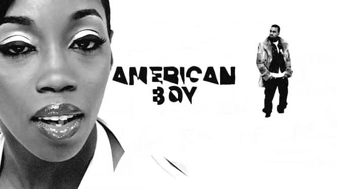 Kanye West on Estelle American Boy