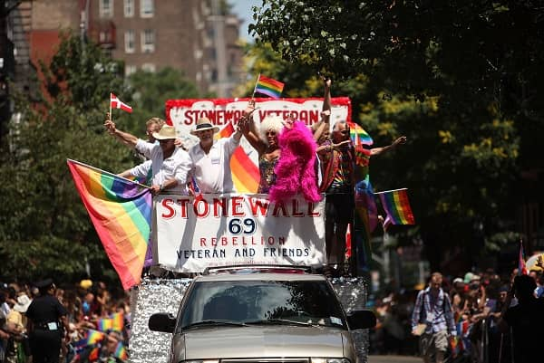 Pride march modern day
