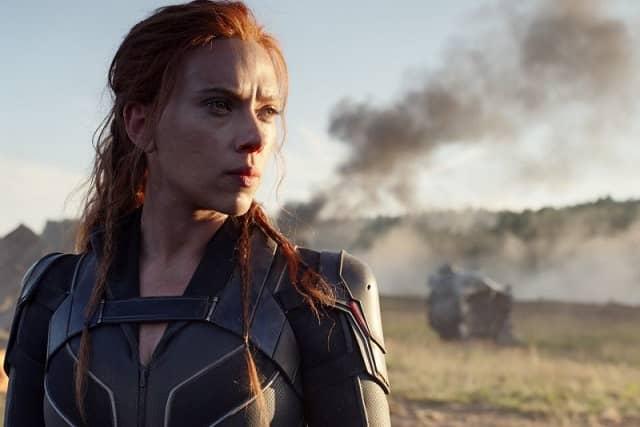 Scarlett Johansson in Black Widow 2021